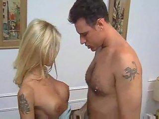 Pretty tranny with yummy boobs stuffing