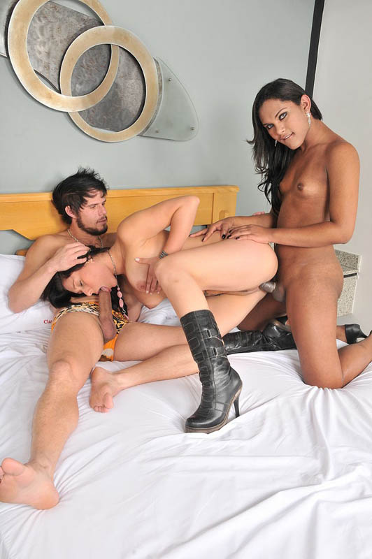 Shemale fucked my wife