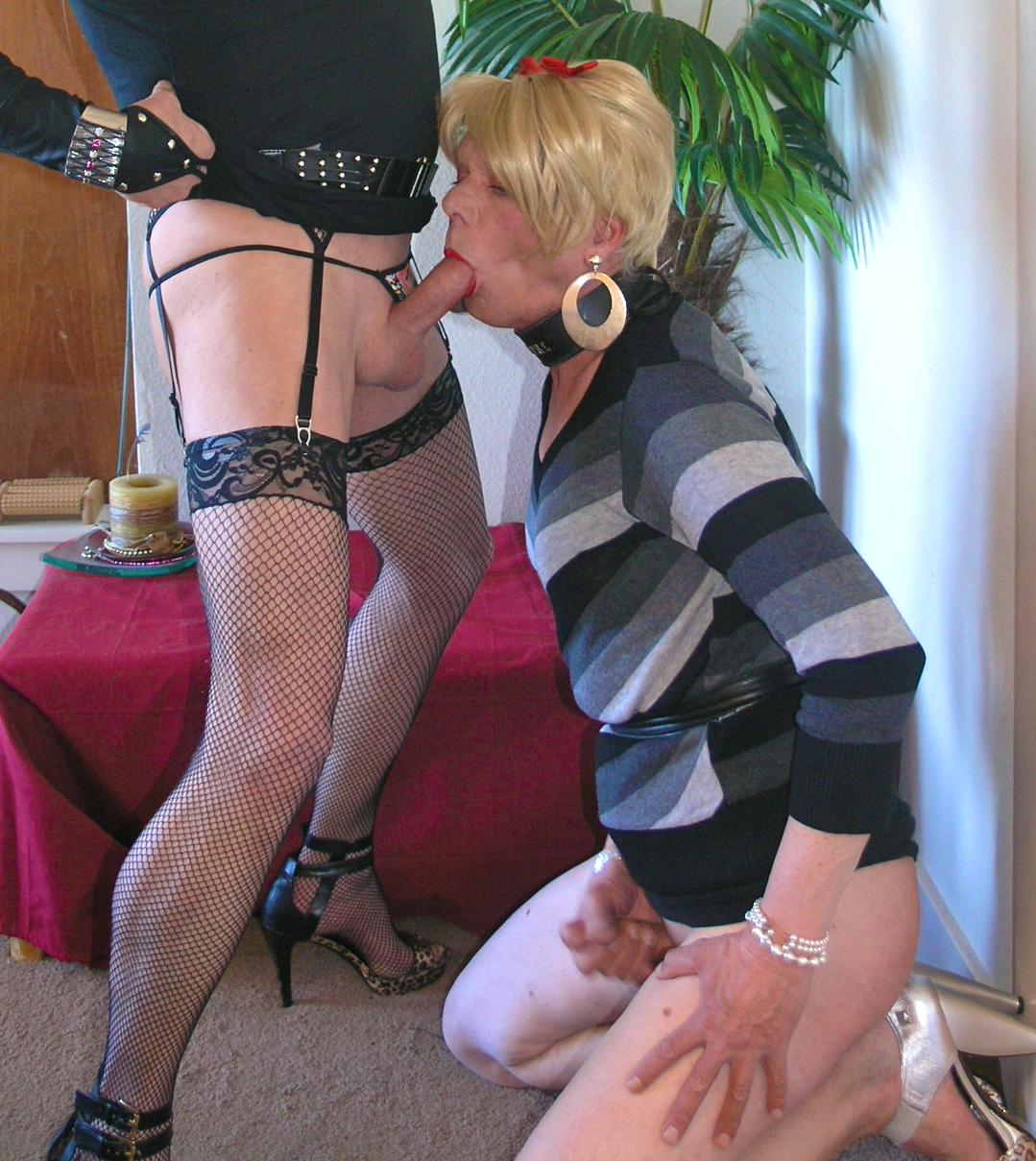 Secret panty wearing sissy is now craving cocks
