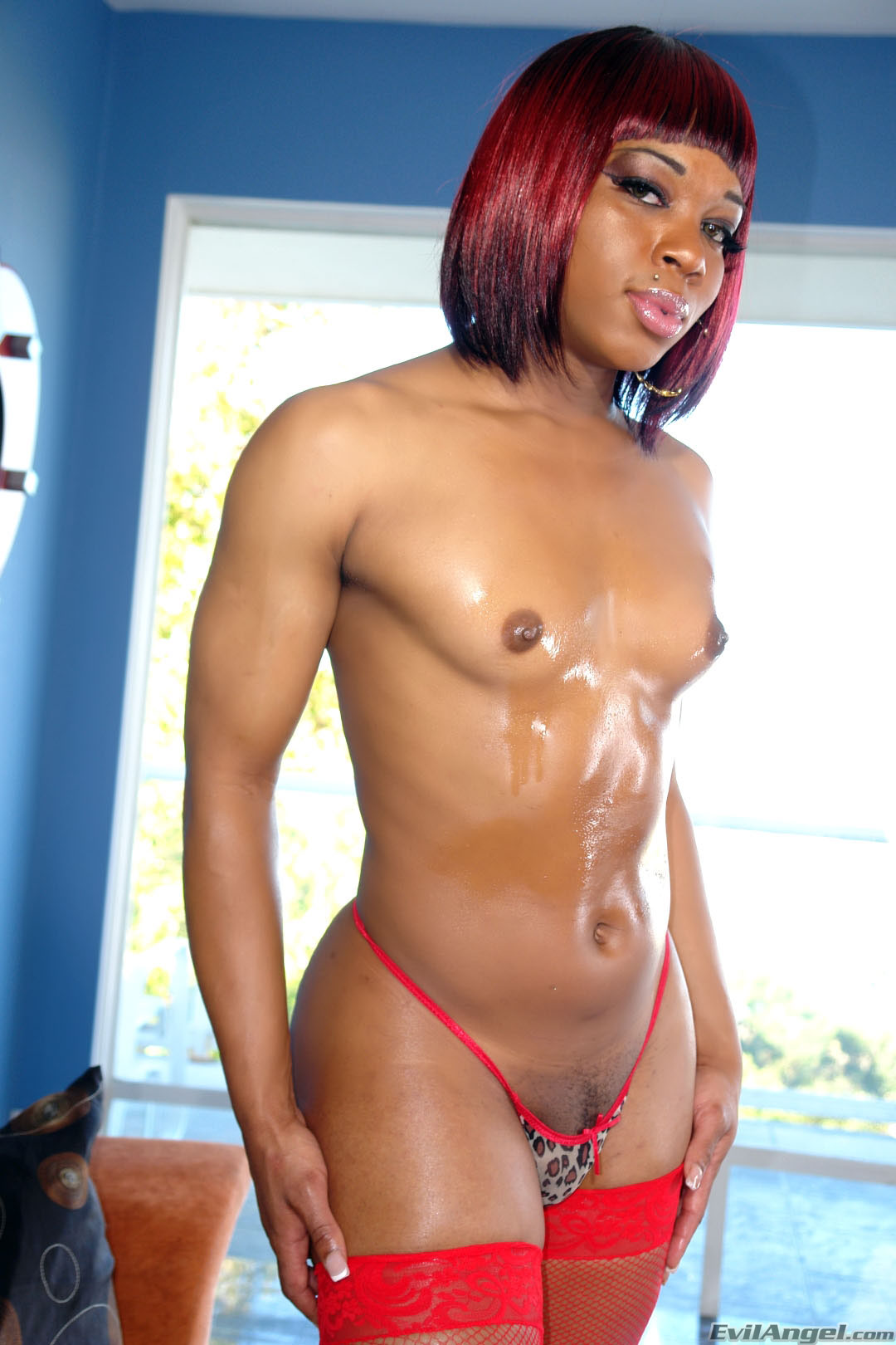 muscular tranny in stockings shows big cock - photo 4 - ashemaletube