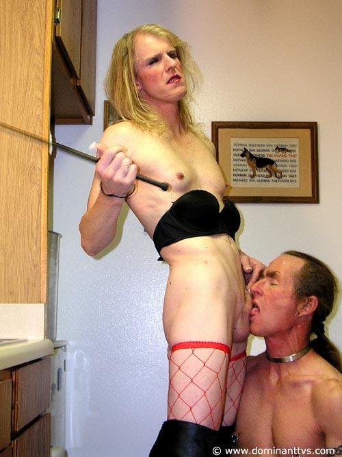 Shemale mature femdom
