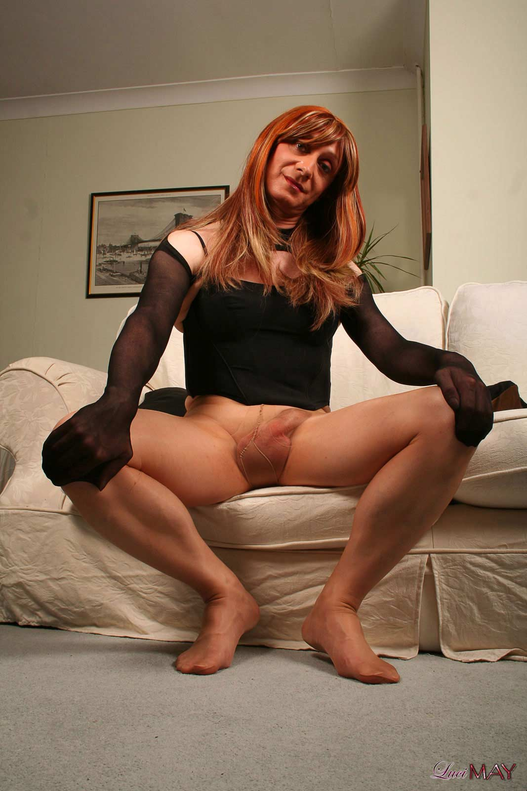 Shemale stockings tube