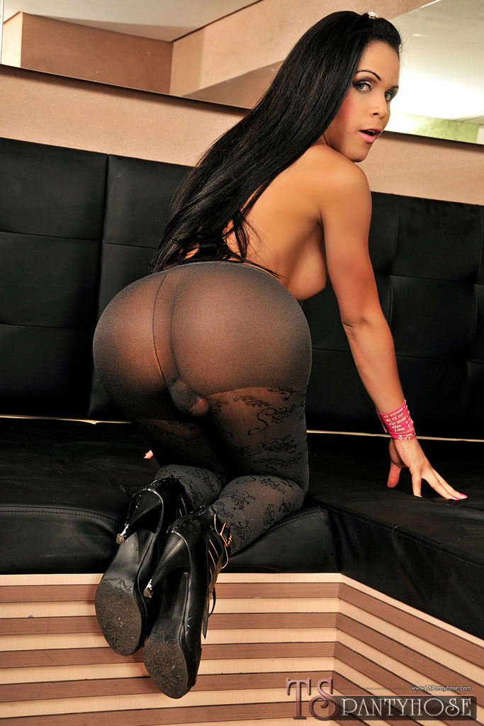 Sexy trannies pantyhose 1