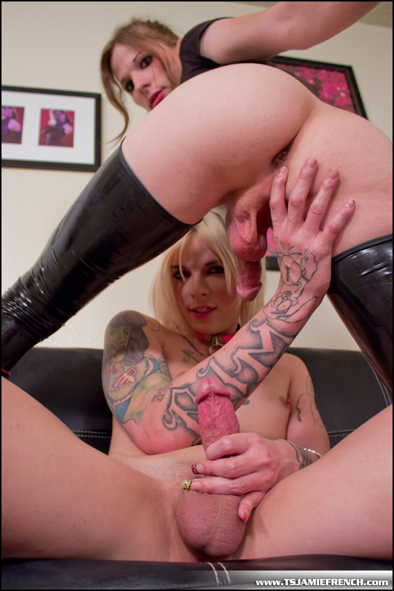 french shemale - Chelsea Marie Having Fun With Jamie French