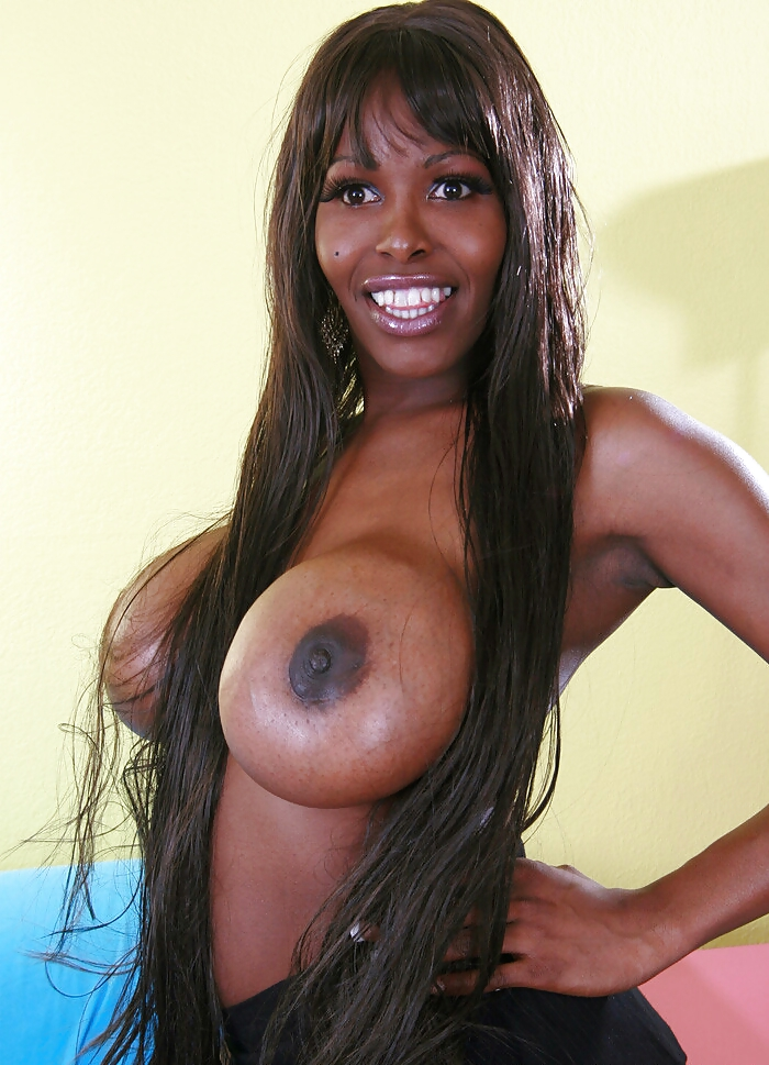 Black tranny big boobs