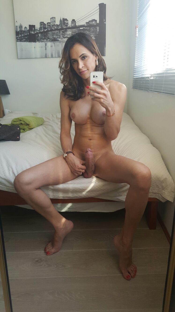 Transgender girls having fun watching porn online webcam