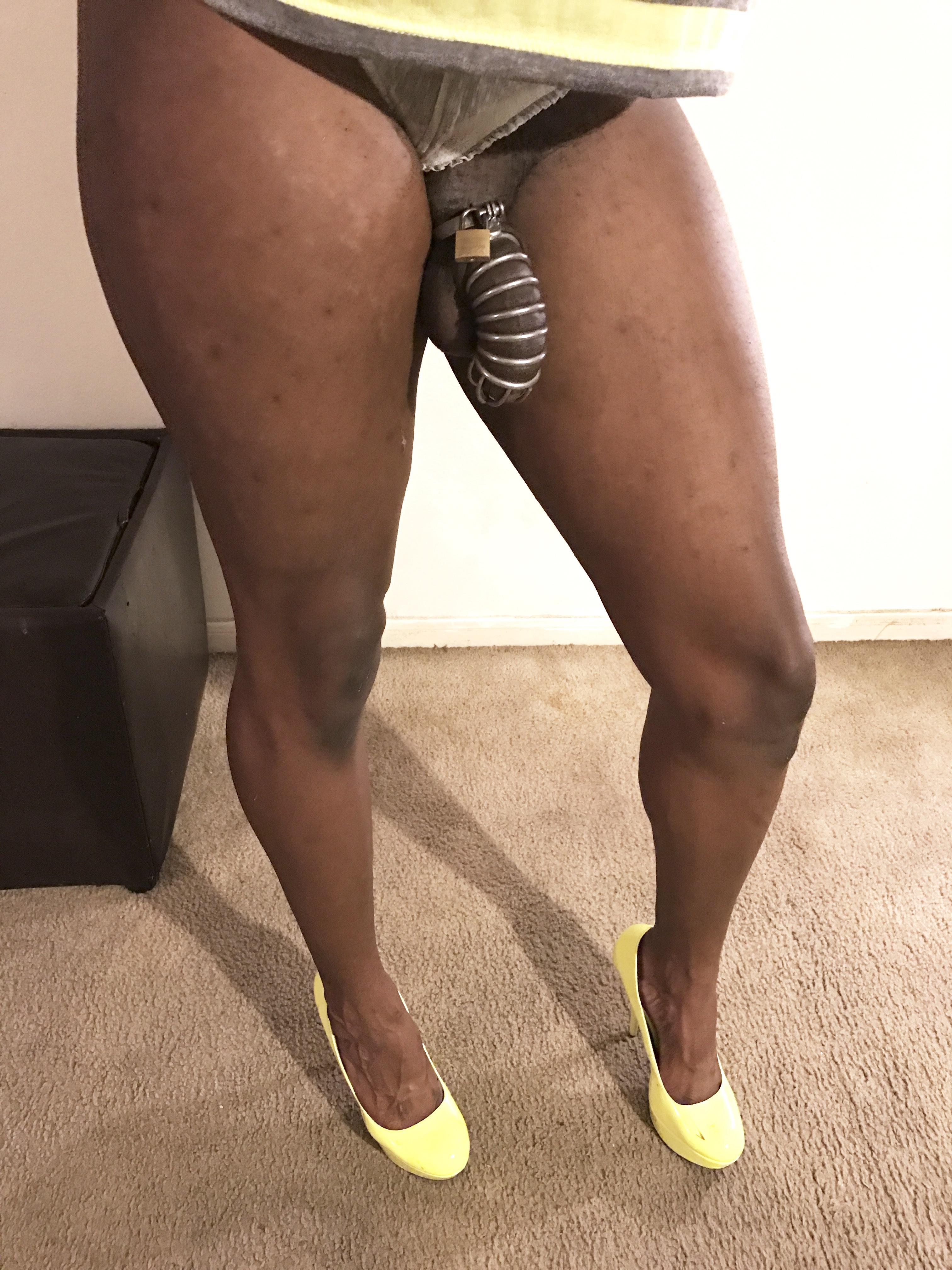 Ebony chastity