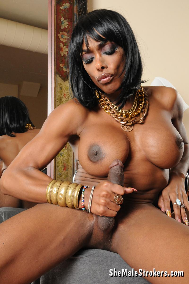 natalia Ebony coxx shemale