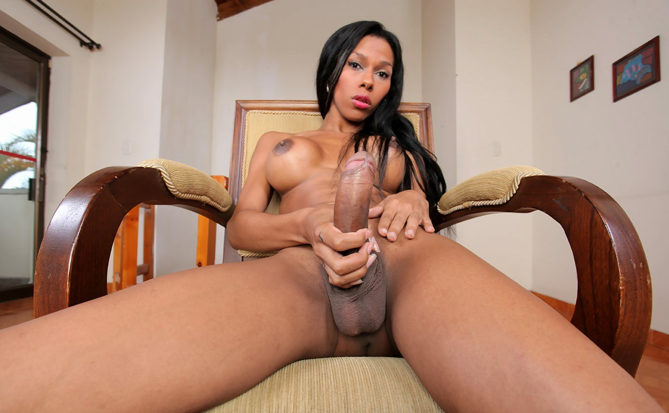 Black shemale big dick sex gallery 9