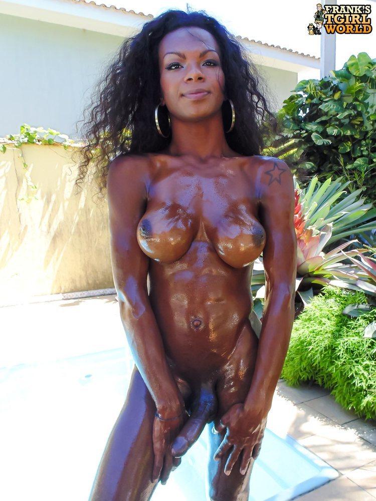 Nude Oily Girls