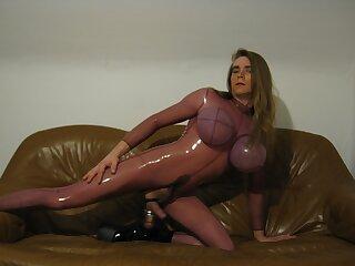 enjoying my rubber skin