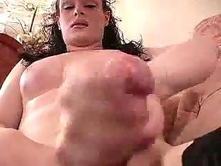 Sexy ladyboy in stockings solo