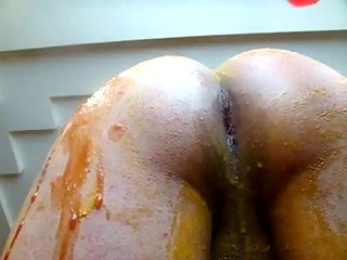 Dirty Bunny Tranny Filming Her Ass Toying