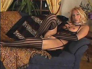 Ladyboy in lingerie solo