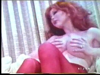 Vintage sex with a busty tranny