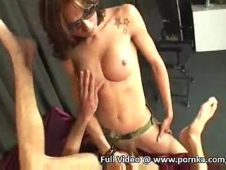 Yummy cum after deep insertions