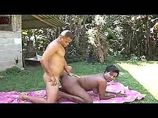 Ebony Ladyboy Fucked Outdoor