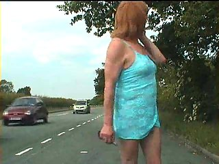Lustful Crossdresser Pick Up Outdoor