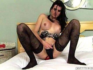 Sexy Dayanna Spiller toying