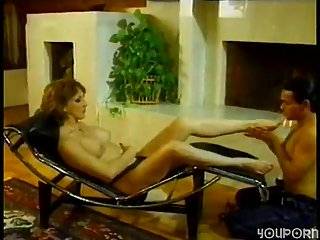Vintage  Chaturbatelikes domination and foot fetish