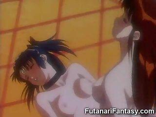 Toon Futanari Fucks a Virgin