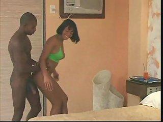 Ebony Tgirl For Horny Buck