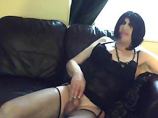 Mature Crossdresser At Home