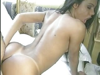 Loving Man nailing his Tgirlfried at home