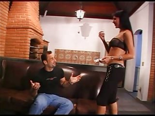 Latina shemale beauty anal penetrated