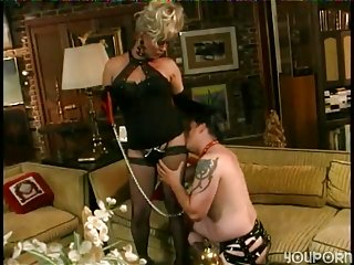 Submissive Slave gets painful ass frigging