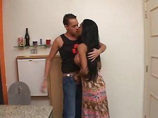 Hot Brazilian TS In Mutual Copulation