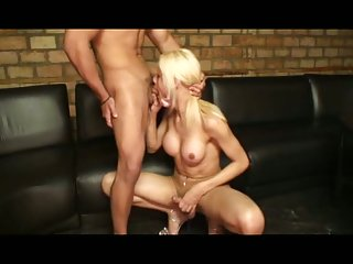 TS hottie anal drilled