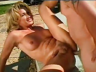 Shemale showing cock