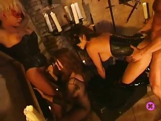 Naughty Bondage Foursome Steamy Fuck