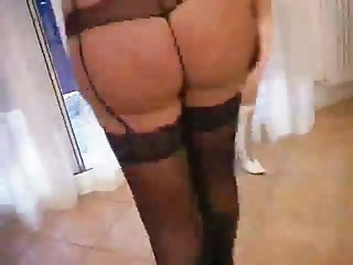 Guy fucks with sexy trannies in lingerie