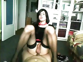 Amateur sexy cd ass licked and fucked