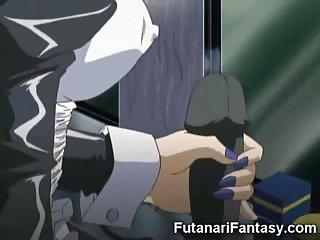 Dirty Hentai Futanari Sex