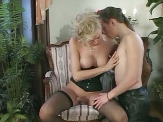 Transexual Beauty Queen fucking with lad