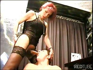 Randy Tgirl fucked in ass