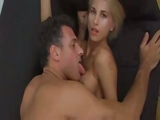 Skinny blonde wants to be fucked