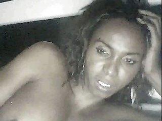 Webcam interracial handjob