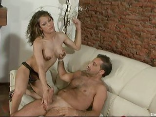 Titty Latina gets analed