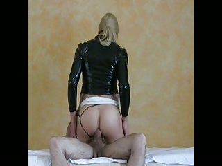 Sexy CD gets ass fucked