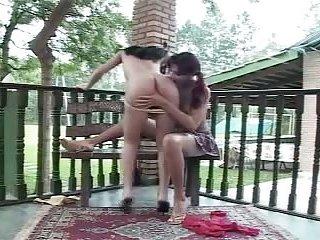 Teen slu Chaturbateand guy in outdoor action