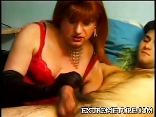 Puffy redhead CD loves sex