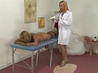 Massage turns hot sex