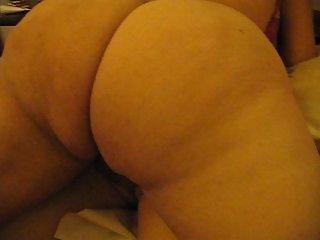 Close up ass drilling
