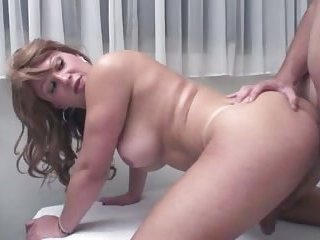 Shaved tranny gets analed