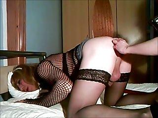 Amateur ass fingering & hard fuck