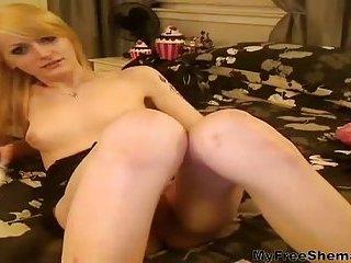 Webcam blonde TS